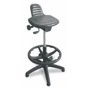 Delovni stol LADO PU z obročem nastavljiv sedež