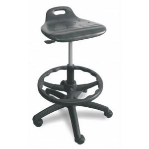 Delovni stol FELIKS PU z obročem