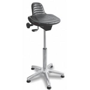 Delovni stol LADO PU ALU nastavljiv sedež