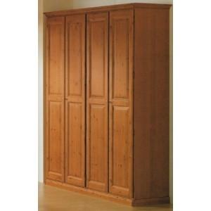Garderobna omara NEŽA 2D, 3D, 4D, 5D, 6D med, oreh