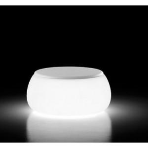 Klubska mizica T BALL z lučko
