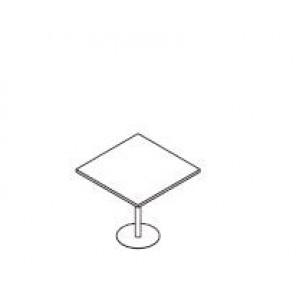 Klubska miza OPAL 80 x 80 x 75