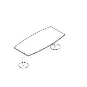 Konferenčna miza OPAL LOK 270 x 120 (100) x 75
