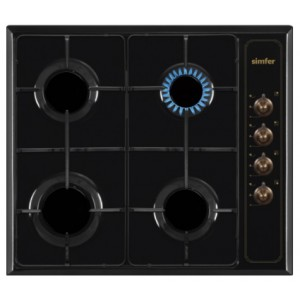 Plinska kuhalna plošča 6400 QGRSA