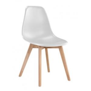 Jedilniški stol ADELA ekskluziv lesene noge