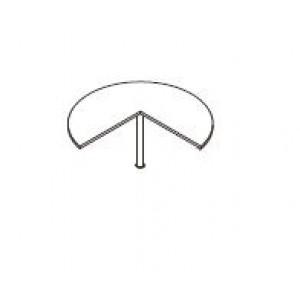 Zaključek mizni OPAL  135 z nogo 135 x 105 x 75