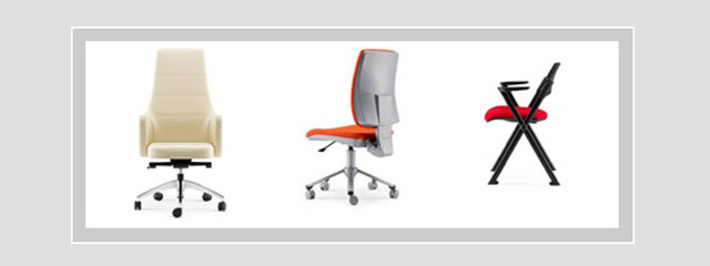Pisarniško pohištvo – pisarniški stoli, konferenčni stoli, delovni stoli