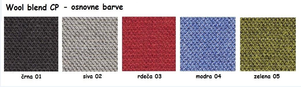 Mešanica volne CP - osnovne barve