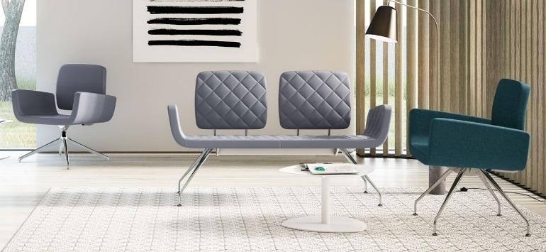 Stoli in klopi za čakalnice