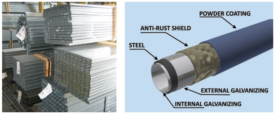 Površinska zaščita kovine
