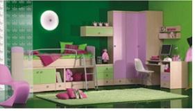Otroška in mladinska soba Planet